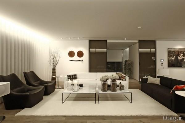 طراحی داخلی بسیار لوکس یک خانه در استانبول