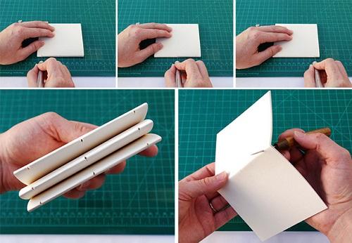 دفترچه جلد چرمی