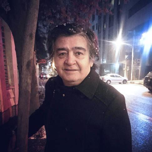 عکس رضا رویگری 68 ساله در کنار نوه اش آوا خانم!