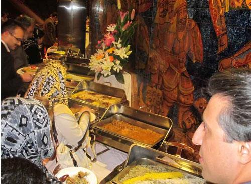 حاشیههای اولین ضیافت شام رستوران برج میلاد