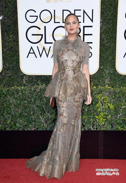 مدل لباس های زیبا در مراسم گلدن گلوب 2017