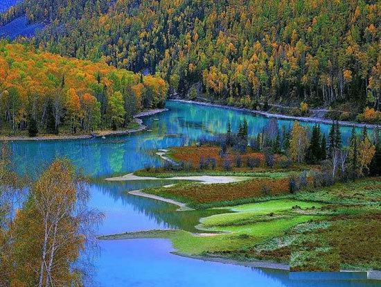 تصاویری رویایی و شگفت انگیز از دریاچه زیبا کاناس