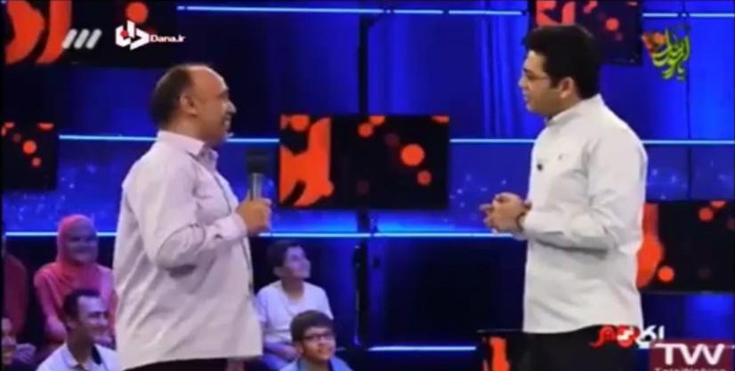 واکنش فرزاد حسنی نسبت به اجرای جنجالی اش و حرف های جدید مهمان برنامه