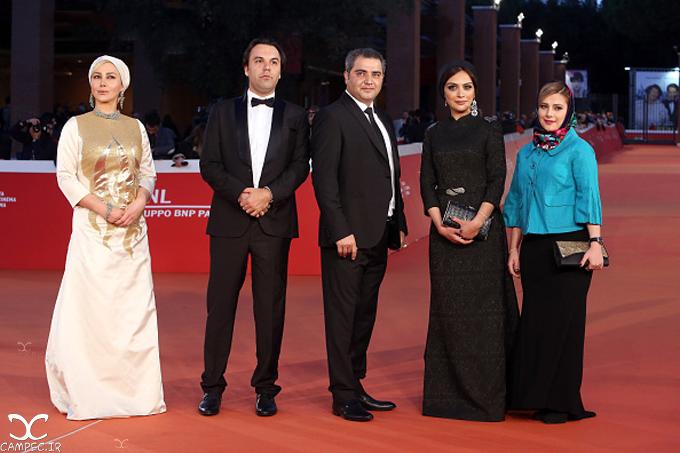 هنرمندان فیلم جاودانگی در جشنواره فیلم رم
