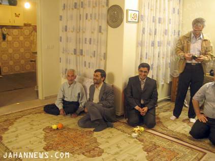 عکس : مراسم عقد پسر آقای احمدینژاد