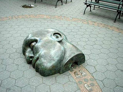 مجسمههای جالب و عجیب در شهرهای دنیا