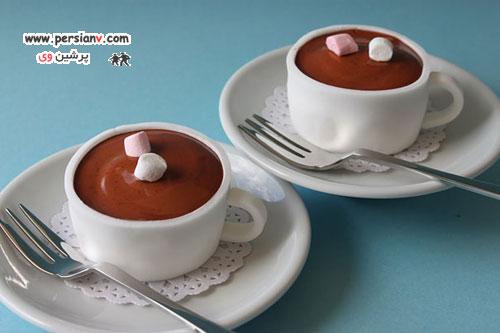 تزئینات رویایی در کیک فنجانی