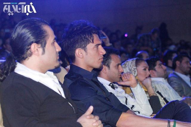 عکس آرش برهانی در کنسرت احسان خواجهامیری