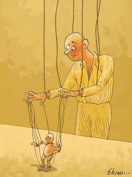 کاریکاتورهای بسیار زیبا و دیدنی احسان گنجی