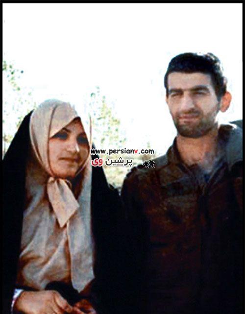 عکسهای دیدنی از ازدواج شهید عباس بابایی با ملیحه حکمت