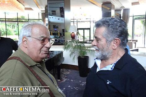 تصاویر ملاقات ناصر ملکمطیعی و بهروز وثوقی، پس از سالهای سال