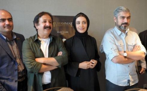 حضور مهدی پاکدل، ساره بیات و مینا ساداتی در کانادا با فیلم محمد (ص)