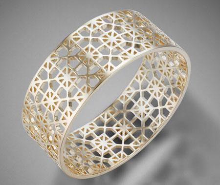 جدیدترین مدل های دستبند طلا و جواهرات سال  تصاویر