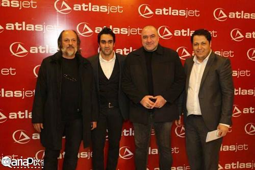 بازیگران و هنرمندان مشهور در همایش یک شرکت هواپیمایی