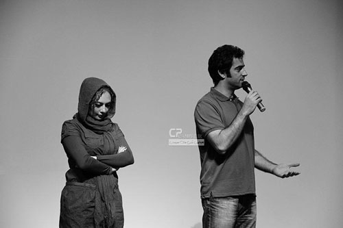 یکنا ناصر و همسرش