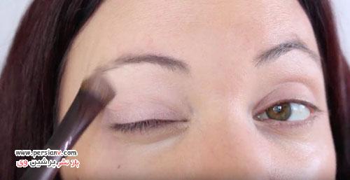 آرایش چشم به سبک رنگ سال 2017
