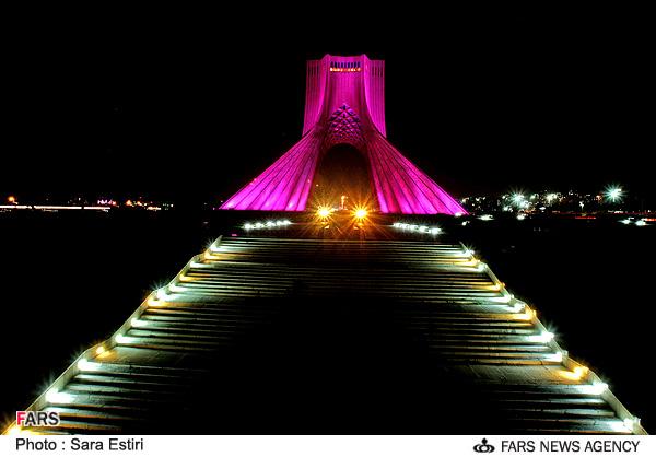 عکسهای دیدنی از شبهای تهران