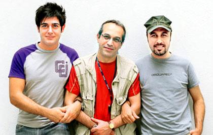 عکس دیدنی محمد رضا گلزار وعطاران