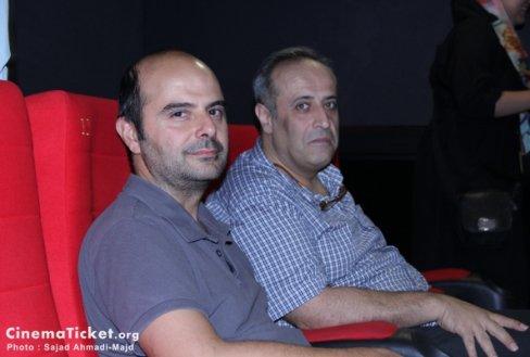 حضور صابر ابر در مراسم دیدار با عوامل فیلم قندون جهیزیه