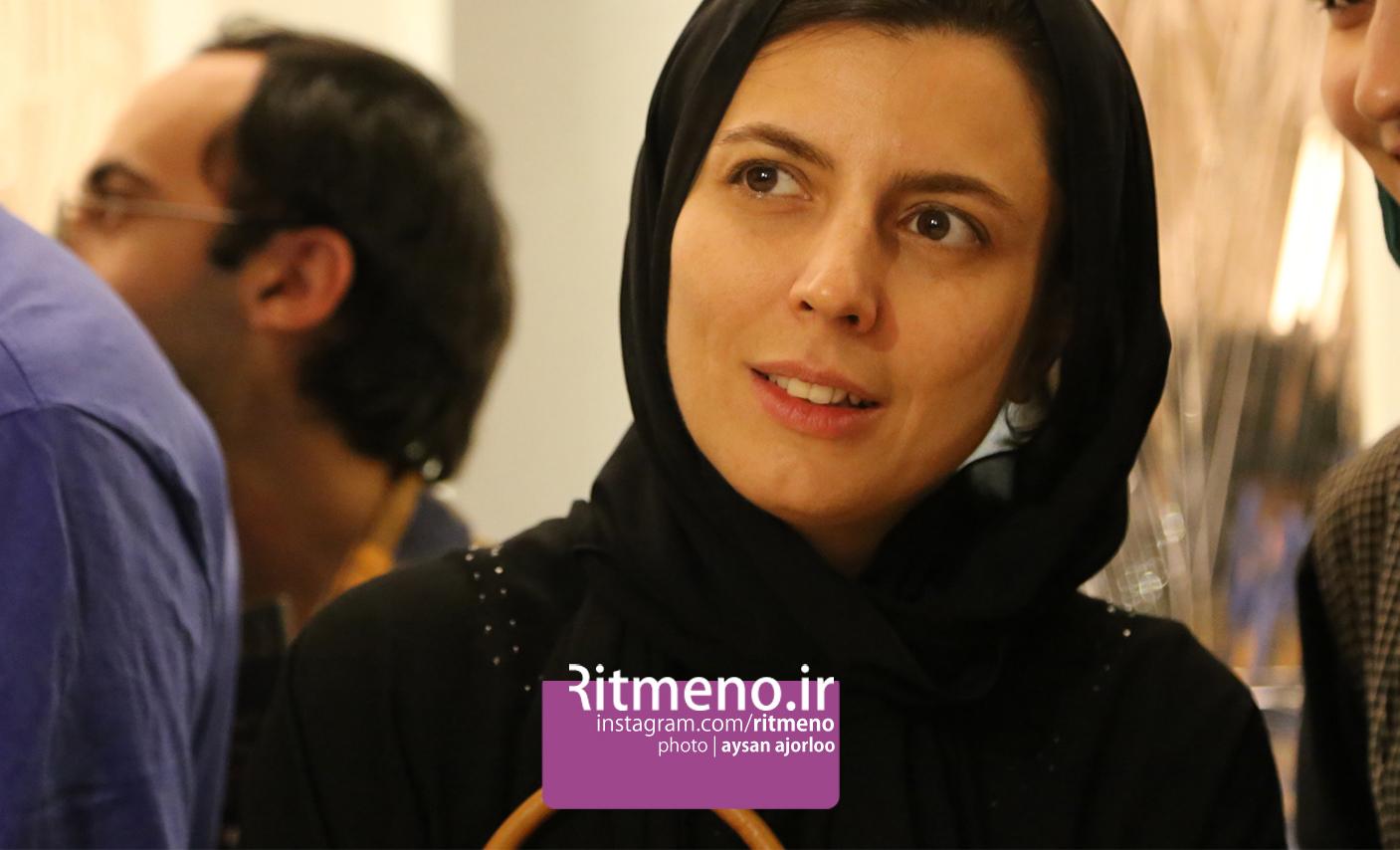 لیلا حاتمی و همسرش مراسم رونمایی از آلبوم موسیقی فیلم جدیدشان