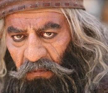 گریم متفاوت حسن پور شیرازی در یک سریال