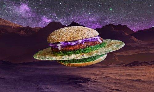 ایده های بسیار جالب گرافیکی برای همبرگر