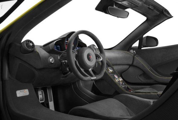 مک لارن ۶۷۵LT اسپایدر مدل ۲۰۱۷