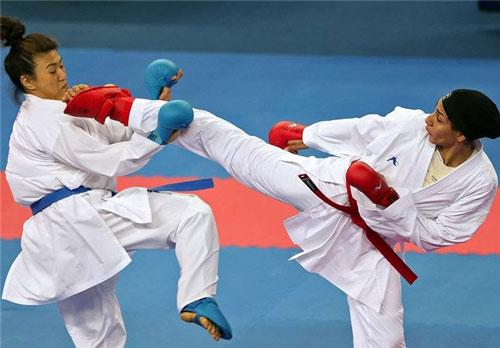 حمیده عباسعلی، کاراته کای جسور کشورمان از زندگی پر فراز و نشیبش میگوید  تصاویر