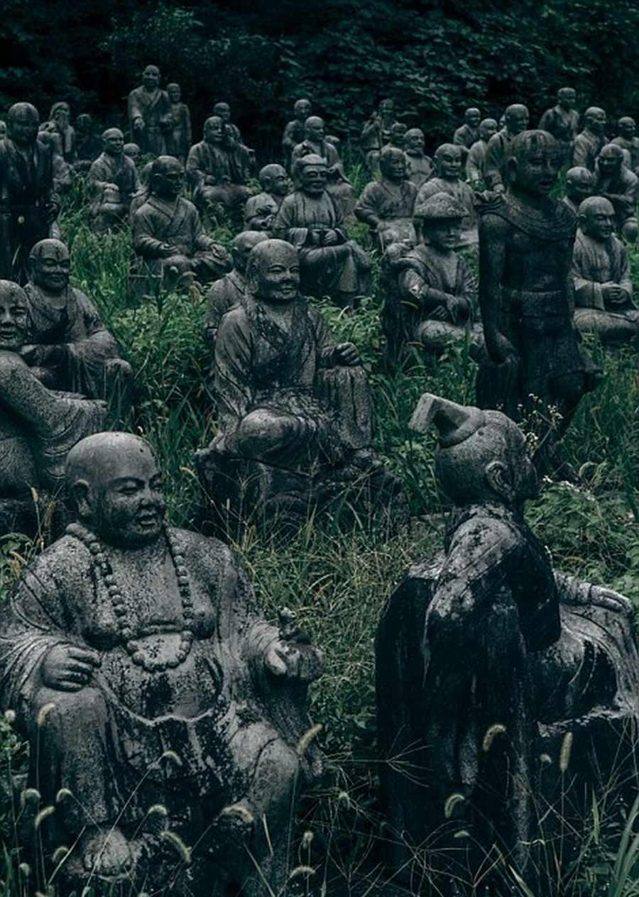 گشتی در پارک متروکه و عجیب ژاپنی