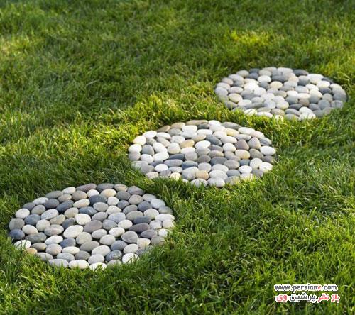 خلاقیت های خانگی زیبا با قلوه سنگ و سنگ های رودخانه ای