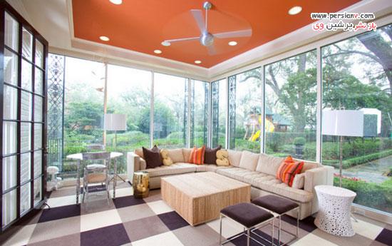 سقف هایی با رنگ غیرسفید که سرها را به بالا می برد