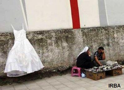 عکس: فروش ویژه لباس عروس در تیرانا!