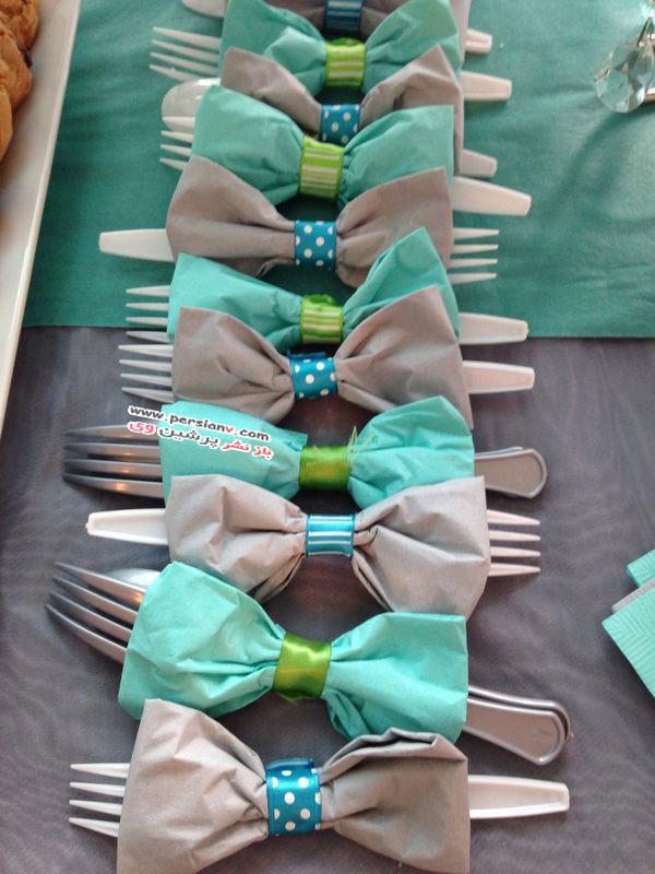 تزئین میز چای و یا شام برای روز مادر(روز زن)