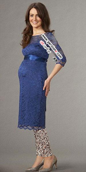 همزاد کیت میدلتون در لباس بارداری