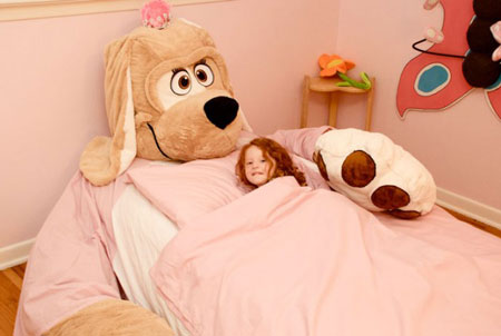 دکوراسیون تخت خواب کودکان