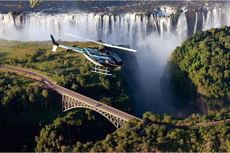 آبشار ویکتوریا عجایب هفتگانه طبیعی جهان