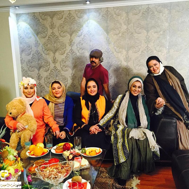 بازیگران مشهور در پشت صحنه سری جدید برنامه شام ایرانی