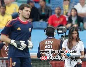 جذاب ترین دختر گزارشگر مسابقات ورزشی !  عکس