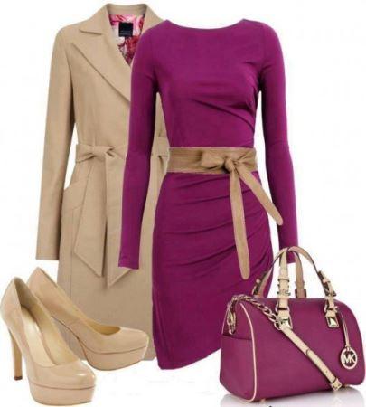 انتخاب رنگین ترین مدل لباس های رنگی پاییز! عکس