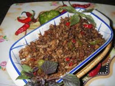 طرز تهیه خوراک گوشت گوساله با آبلیموی تازه