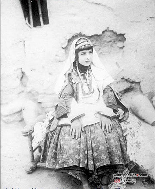 عکس های جالب : زنان و دختران ایران در ۱۲۰ سال قبل