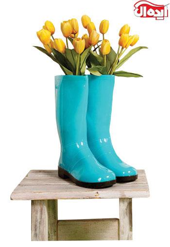 گلدان های بهاری