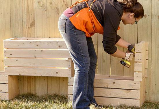 باغچه دیواری بسازید