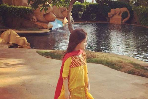 تیپ هندی بارانا دختر بنیامین بهادری