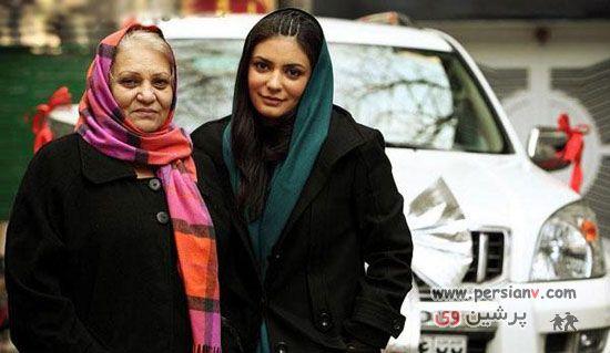 عکس های جدید و جذاب : لیندا کیانی ، همسر و مادرش