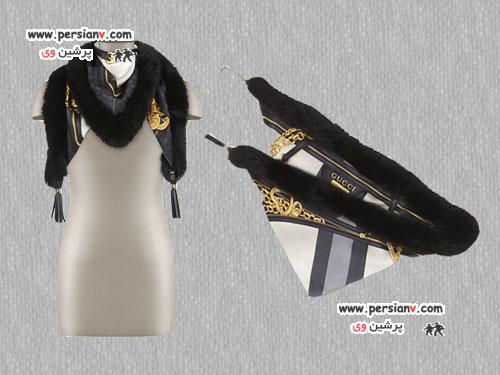جدیدترین شال و شال گردن های زمستانی مارک Gucci