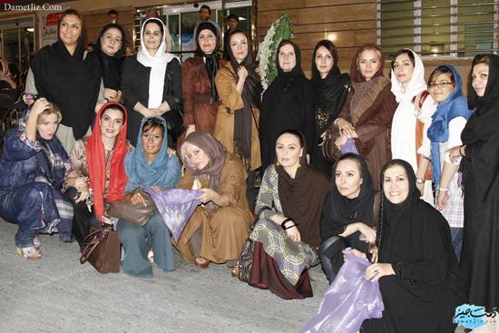 عکس یادگاری بازیگران زن مشهور سینما