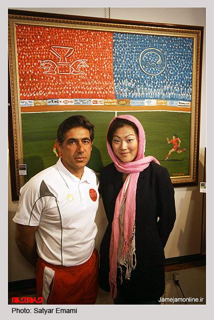 عکس : سرمربی پرسپولیس و همسرش