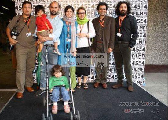 عکس های دیدنی ازلیلا حاتمی ، همسر و فرزندانش