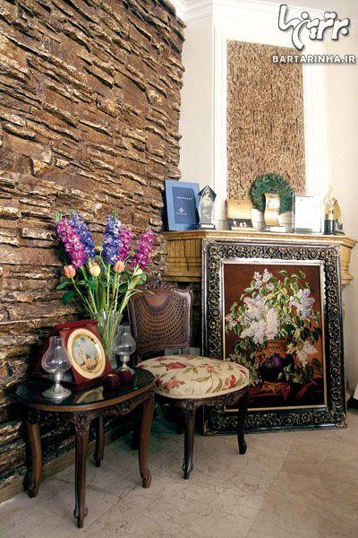 دکوراسیون خانه مریم امیرجلالی